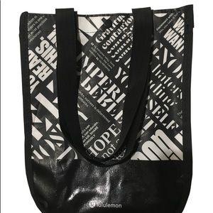 Lululemon 20th Anniversary Reusable Bag NWOT